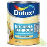 Краска Dulux Kitchen & Bathroom Краска для кухонь и ванных комнат полуматовая