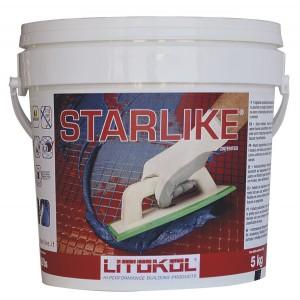 Эпоксидная двухкомпонентная затирка Litokol Litochrom Starlike Литокол Литохром Старлайк