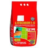 Затирка для плитки на цементной основе Litokol Litochrom 1-6