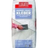 Клей для мрамора и гранита Lugato Marmor + Granit Kleber белый