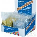 Добавка металлизированная блёстки Mapei MapeGlitter