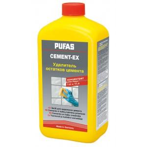 Удалитель остатков цементных растворов Cement-Ex Pufas концентрат
