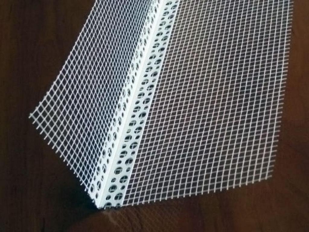 Уголок фасадный пластиковый армированный