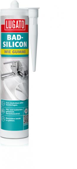 Герметик санитарный Lugato Wie Gummi Bad-Silicon
