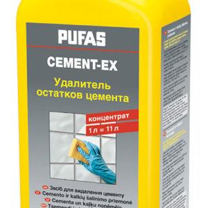 Удалитель остатков цемента Cement-Ex Pufas