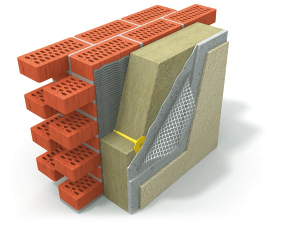 Штукатурно-клеевая смесь для минеральной ваты Ceresit CT 190