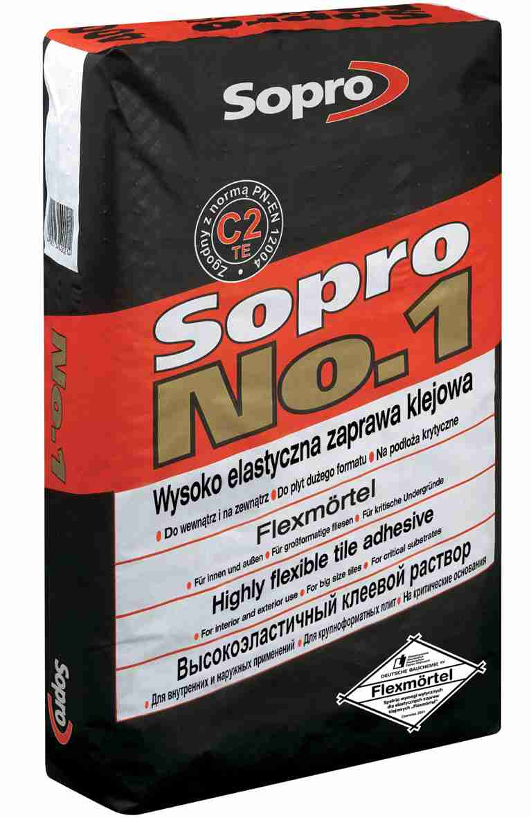Клей плиточный высокоэластичный Sopro No.1/400