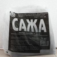 Технический углерод, Сажа строительная 1 кг