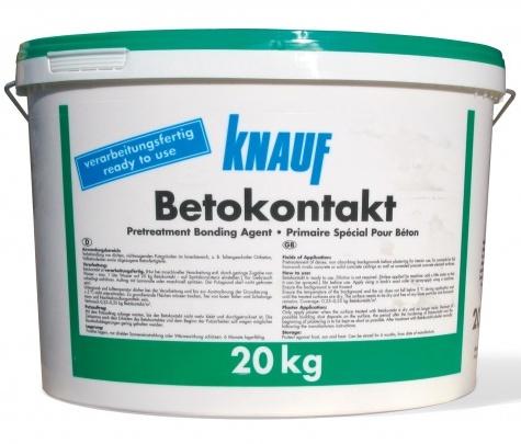 Грунтовка Knauf Betokontakt (Кнауф Бетоконтакт)