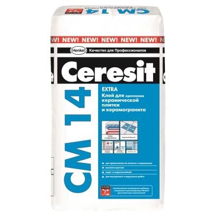 Клей плиточный Ceresit CМ 14 Extra (Церезит СМ 14)