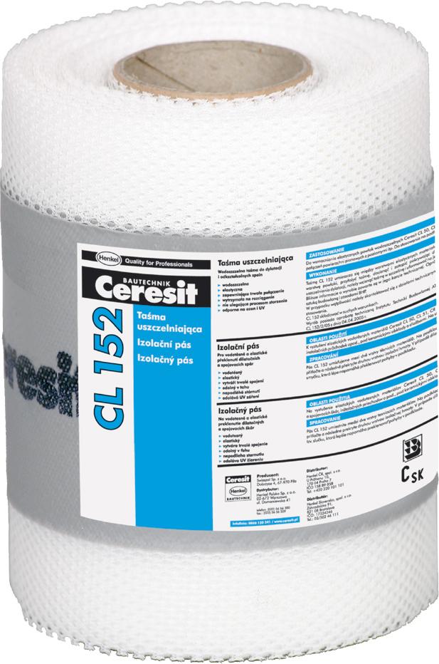 Гидроизоляционная лента Ceresit CL 152