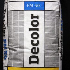 Затирка для камня Decolor FM 50