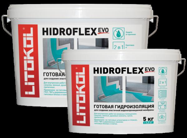 Гидроизоляция обмазочная жидкая Litokol Hidroflex