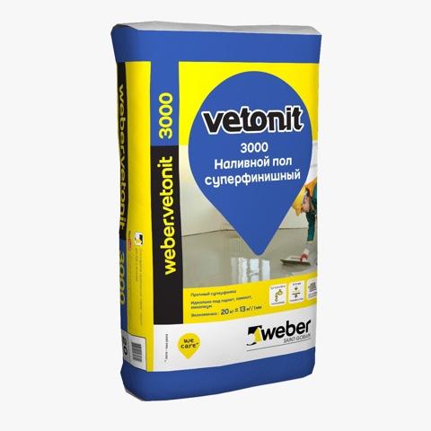 Наливной пол Vetonit 3000