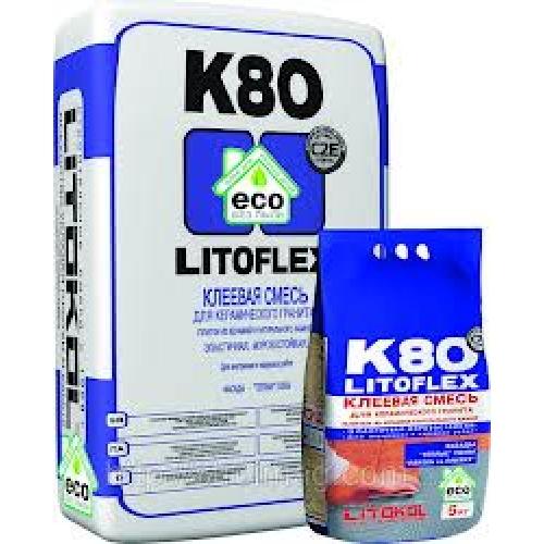 Клей плиточный эластичный  Litokol Litoflex K80