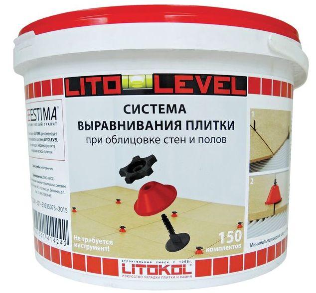 КОМПЛЕКТ Система укладки плитки Litokol Litolevel винтовая