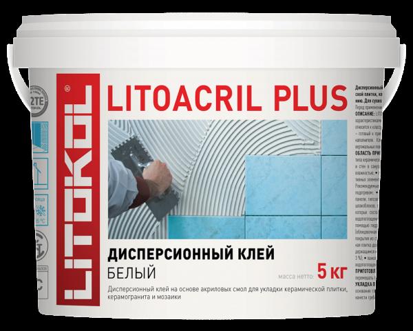 Клей дисперсионный акриловый Litokol Litoacril Plus (Литоакрил Плюс)