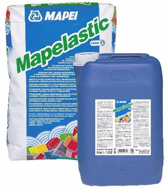 Гидроизоляция двухкомпонентная Mapei Mapelastic