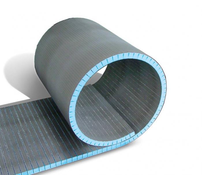 Теплоизоляционные гибкие панели REAL с пропилом Руспанель