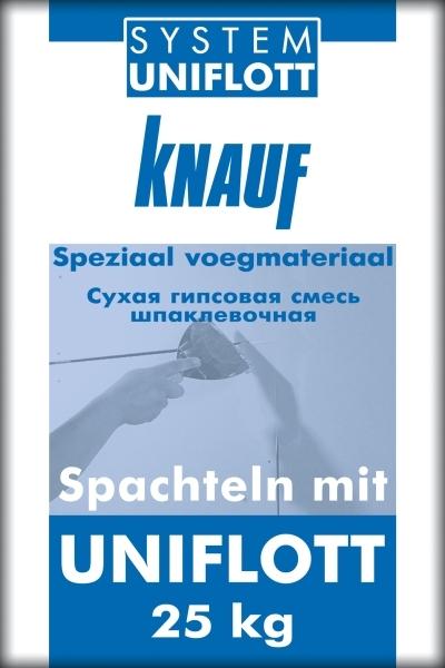 Высокопрочная шпаклёвка Кнауф (Uniflot) Унифлот
