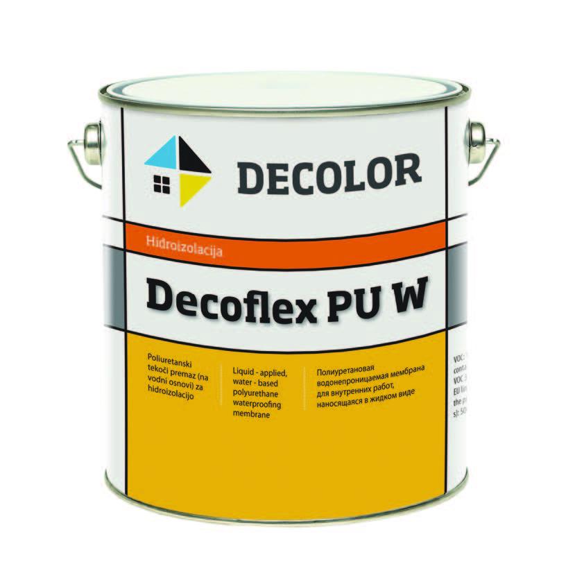Полиуретановая мембрана Decoflex PU W