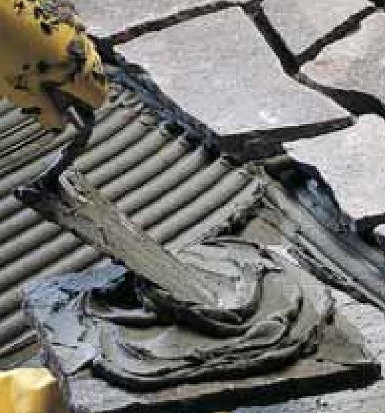 Толстослойный плиточный клей Mapei Keraflex Maxi белый