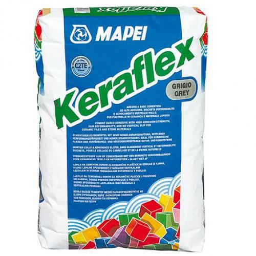 Клей плиточный улучшеный Mapei Keraflex (Мапей Керафлекс) серый