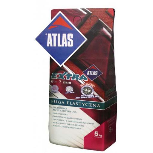 Затирка для плитки цементная для узких швов Atlas Extra  (Атлас Экстра)