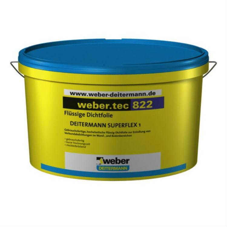 Полимерная гидроизоляционная мастика Weber.Тек 822