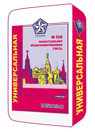 Сухая смесь универсальная М150 Русеан 40 кг