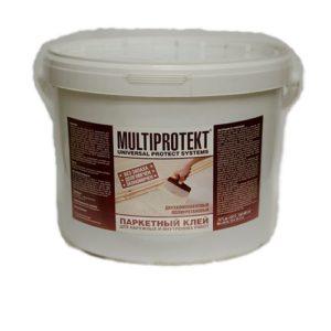 Клей паркетный полиуретановый МультиПротект-ПУ, 10 кг