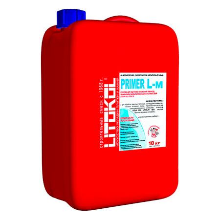 Грунтовка для наливных полов LITOKOL PRIMER L-m (ЛИТОКОЛ ПРАЙМЕР), 10 кг