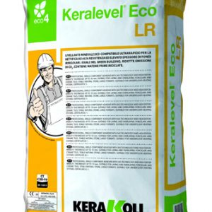 Keralevel Eco LR быстро-твердеющий выравнивающий раствор 25 кг.