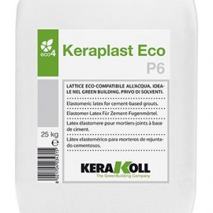 Keraplast Eco P6 25кг - водный латекс для минеральных растворов и связующих слоёв