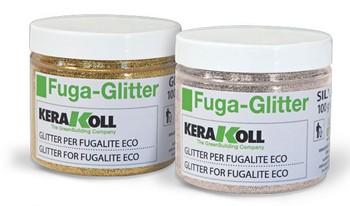 Fugaglitter - блестки золотого и серебренного цветов 0,1 кг.