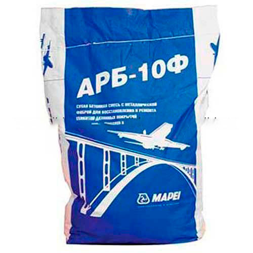 Mapei ARB 10F бетонная ремонтная смесь (от 50 - 300 мм, не менее 75 МПа) 25 кг