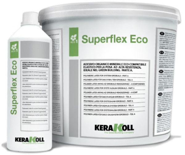 Superflex Есо Супер-эластичный двухкомпонентный клей 8 кг.