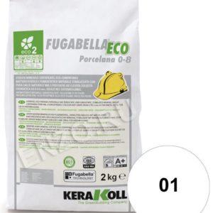 Fugabella Eco Porcelana затирка для швов на цементной основе Kerakoll 2кг.