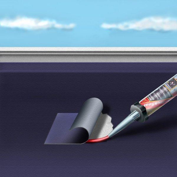 Sika Blackseal-1 Кровельный герметик для швов