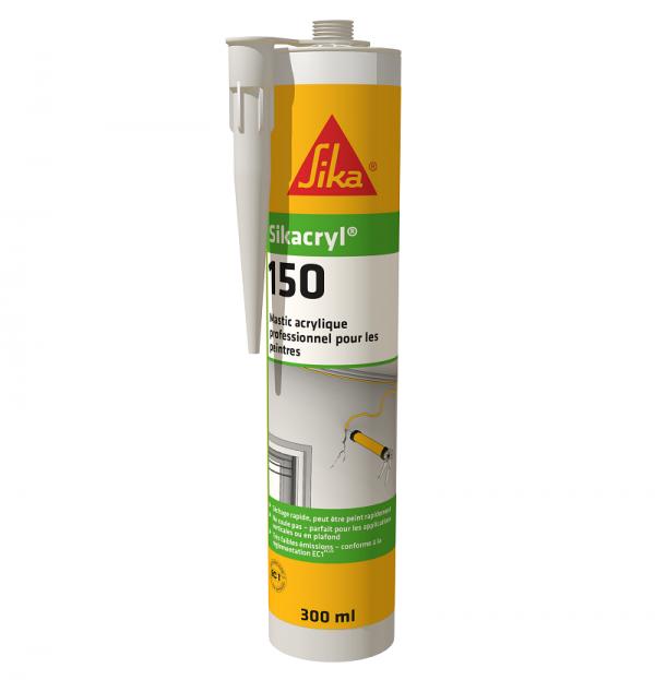 Sikacryl-150 – быстросохнущий акриловый герметик