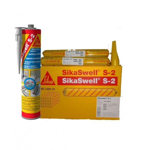 Герметик полиуретановый  набухающий при контакте с водой Sikaswell S-2  600мл