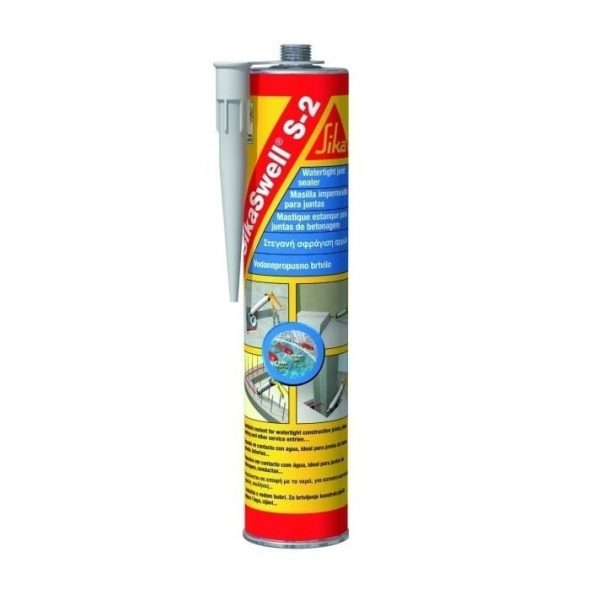 Sikaswell S-2 полиуретановый герметик, набухающий при контакте с водой