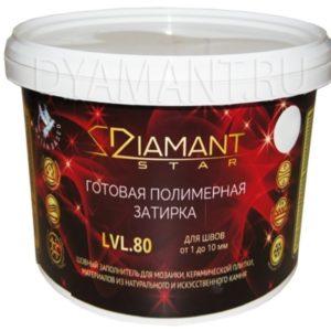 DIAMANT STAR - блестящая полимерная жидкая затирка 2 кг.
