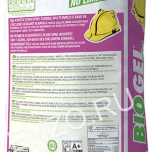 Клей для плитки и керамогранита Kerakoll Biogel No Limits Grey 25 кг