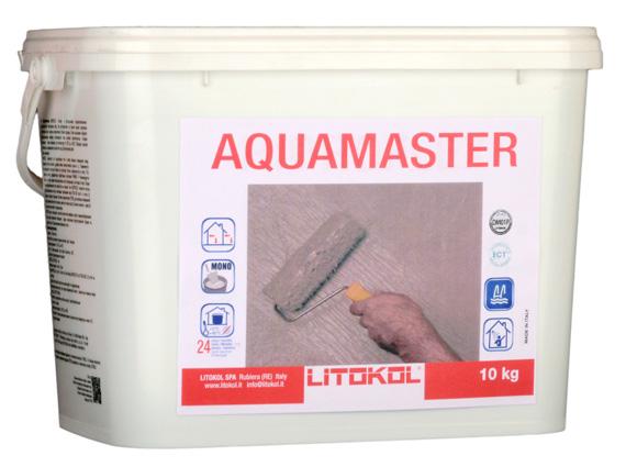 Гидроизоляция готовая LITOKOL AQUAMASTER (ЛИТОКОЛ АКВАМАСТЕР), 10 кг