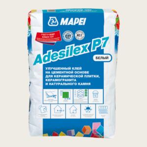 Мапей Adesilex P7 клей для плитки белый 25 кг