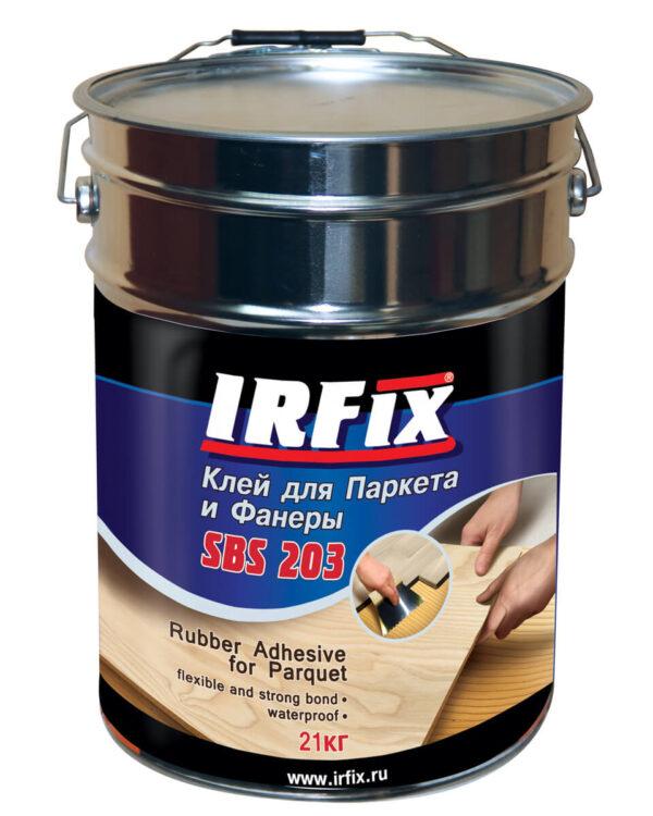 Клей для паркета и фанеры IRFix SBS-203 21кг